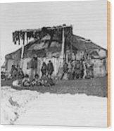 Alaska Eskimos, C1898 Wood Print