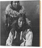 Alaska Eskimos, C1903 Wood Print