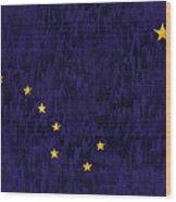 Alaska Flag Wood Print
