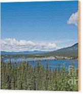 Alaska Highway Steel Bridge Teslin Yukon Canada Wood Print