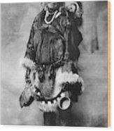 Alaska Mother And Child Wood Print