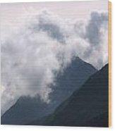 Alaska Mountaintop Wood Print