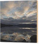 Alaska Reflections Wood Print