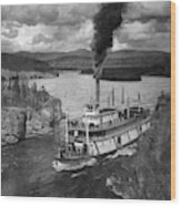 Alaska Steamboat, 1920 Wood Print