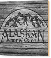 Alaskan Brewing Wood Print