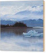 Alaskan Mountain Side Wood Print