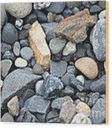 Alaskan Sand II Wood Print