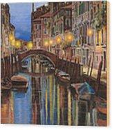 alba a Venezia  Wood Print