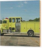 Albany Community Volunteer Fire Dept.  702 Wood Print
