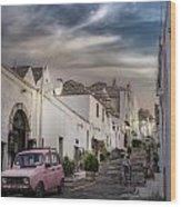 Alberobello Wood Print