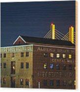 Albers Bros. Cereal Millers Wood Print