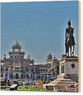 Albert Hall - Jaipur India Wood Print