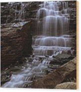 Albion Waterfalls 2 Wood Print