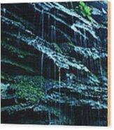 Albion Waterfalls 3 Wood Print