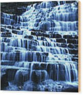Albion Waterfalls 5 Wood Print