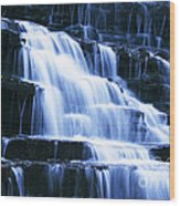 Albion Waterfalls 6 Wood Print