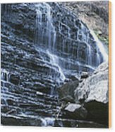 Albion Waterfalls 7 Wood Print