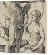 Albrecht Dürer German, 1471 - 1528, Apollo And Diana Wood Print