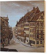 Albrecht Durers Home Wood Print
