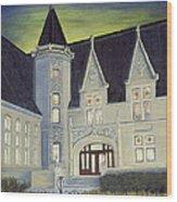 Albright Memorial Library  Wood Print