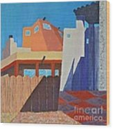 Albuquerque Rays Wood Print