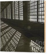Alcatraz 4 Wood Print by Micah May
