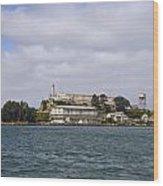 Alcatraz Is Picture Perfect Wood Print