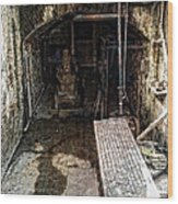 Alcatraz Island Morgue Wood Print