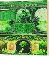 Alchemy Currency Wood Print