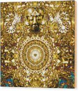 Alchemy Of The Heart Wood Print by Jalai Lama