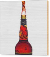 Alcohol Fly  Wood Print