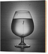 Alcoholism. The Drowning Wood Print
