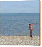 Aldeburgh Beach Wood Print