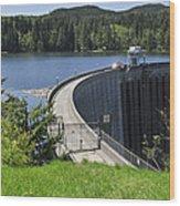 Alder Dam 2 Wood Print