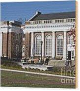 Alderman Library University Of Virginia Wood Print