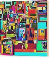 Alef Bais 1a Wood Print