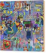 Alef Bais 1y Wood Print