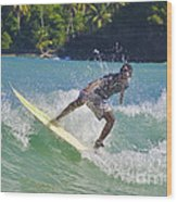 Alex Encarnacion Surf 2 Wood Print