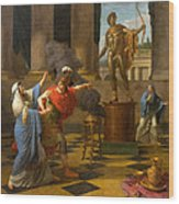 Alexander Consulting The Oracle Of Apollo Wood Print