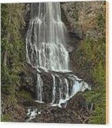 Alexander Falls - Whistler Bc Wood Print
