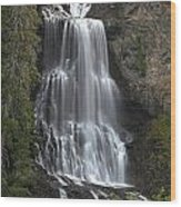 Alexander Falls - Whistler British Columbia Wood Print