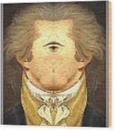 Alexander Hamilton Invert Wood Print