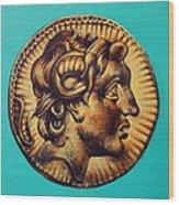 Alexander The Great Wood Print