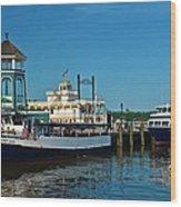Alexandria Waterfront Wood Print