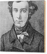 Alexis De Tocqueville Wood Print