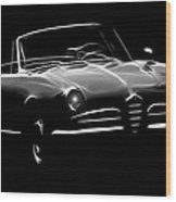 Alfa Romeo 1600 Giulia Spider Wood Print