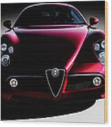 Alfa Romeo 8c Wood Print