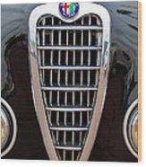 Alfa Romeo Milano Grille Wood Print