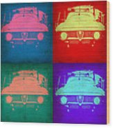 Alfa Romeo  Pop Art 1 Wood Print