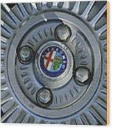 Alfa Romeo Wheel Rim Wood Print